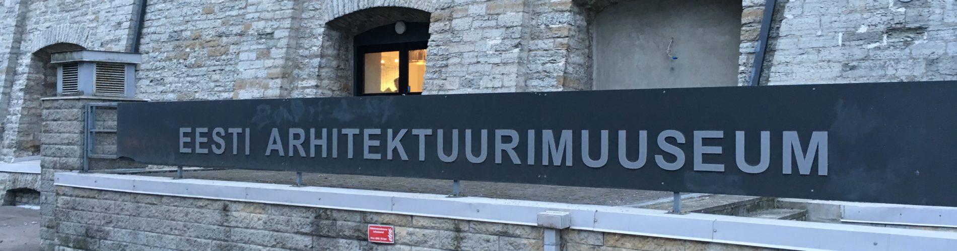 Eesti Arhitektuurimuuseum (RKAS/TERA AS) jaanuar 2017